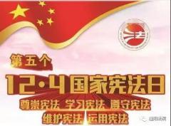 【12.4宪法日】尊崇宪法 学习宪法 遵守宪法 维护宪法 运用宪法