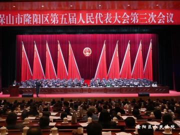 隆阳区人民法院2018年工作报告获...
