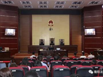 30分钟审结9案,隆阳法院首次启...